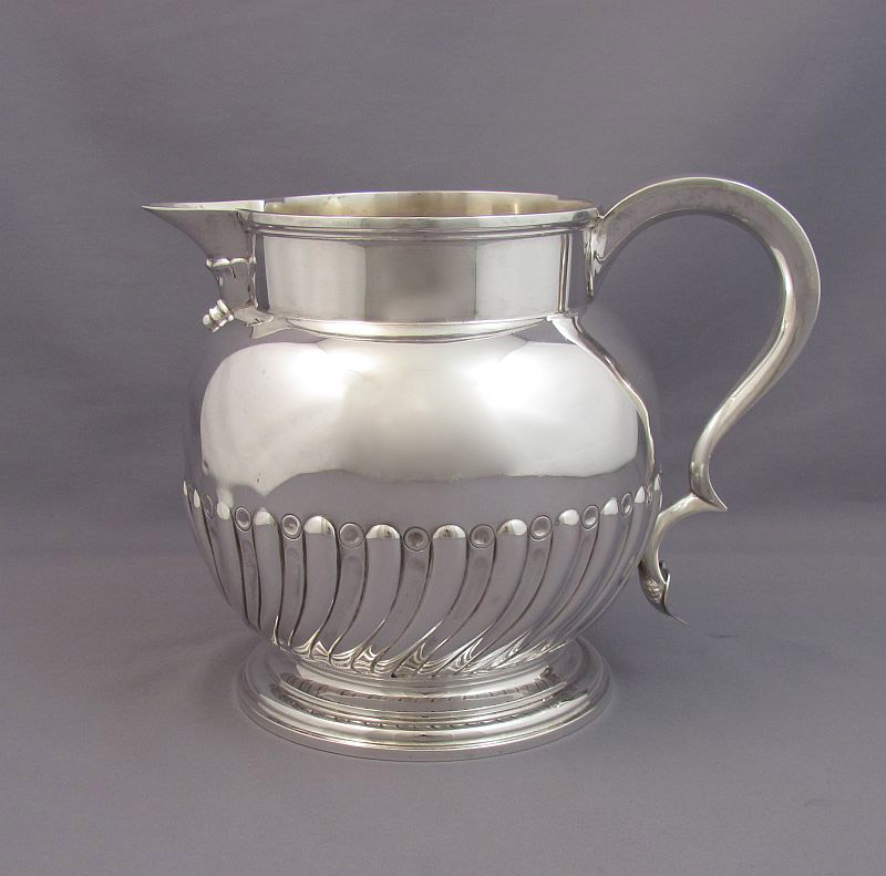 Victorian Sterling Silver Water Jug