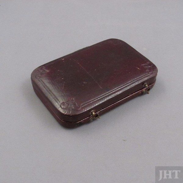 Nathaniel Mills Silver Card Case