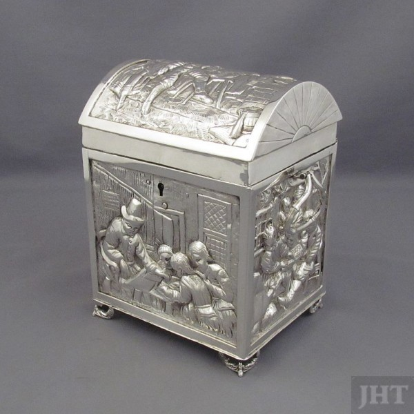 Dutch Silver Casket
