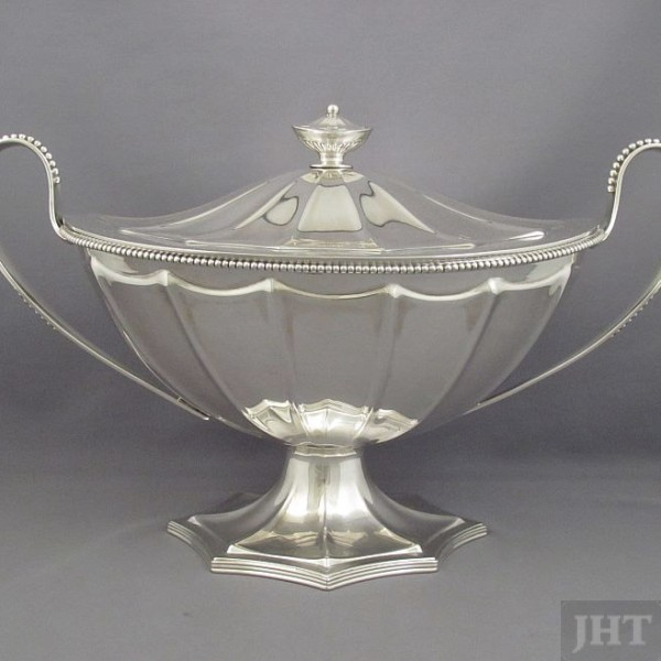 Gorham Sterling Silver Soup Tureen