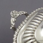 Pair of Regency Sterling Silver Sauce Tureens